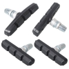 Point V-Brake Bremsschuhe, Schwarz, 2 Paar, 70 mm, Aluminium - 1