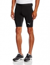 PUMA Herren Hose TB Shorts Tights, black, XL, 654617 03 -