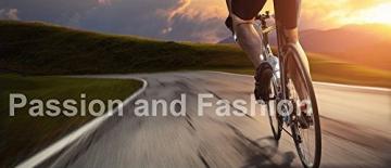 Radlerhose Herren mit Sitzpolster 3D, Nooyme Fahrradhose schnelltrockende, elastische Radhose aus Polyamid und Spandex – Verbesserte Elastizität und Luftdurchlässigkeit - 7