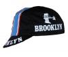 Radmütze Brooklyn Black Cap Rennmütze Retro Mütze - 1