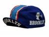 Radmütze Brooklyn Blue Cap Rennmütze Retro Mütze - 1