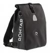 Rohtar Allround Series - Fahrradtasche - Fahrradrucksack - Gepäckträgertasche - Die ideale Reisetasche für Radfahrer - Verdeckte Gurte und Haken und voll wasserdichtes PVC-Gewebe - 18L Schwarz - 1