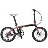 "SAVA 20"" Kohlefaser Die Klappfahrräder Mini Compact City Bicycle SHIMANO 3000 9 Gang -"