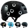 Skullcap® BMX Helm ☢ Skaterhelm ☢ Fahrradhelm ☢, Dirt Bike, Größe M, Bullets -