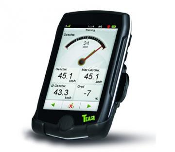 TEASI pro - Fahrrad- & Wandernavigation Europa mit Bluetooth , schwarz - 2