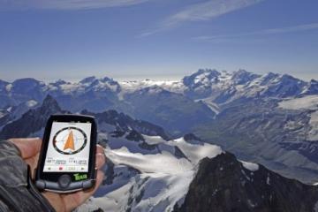 TEASI pro - Fahrrad- & Wandernavigation Europa mit Bluetooth , schwarz - 5