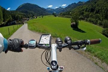 TEASI pro - Fahrrad- & Wandernavigation Europa mit Bluetooth , schwarz - 7