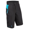 Tenn Mens Protean MTB/Downhill Cycling Shorts - Black/Cyan - XL - 1