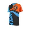 Uglyfrog 2017 MTB Downhill Trikot Kompressionsshirt Herren Kurzarm Fitness T-Shirt Freizeit Männer Laufshirt Printed und Klassisch Top Funktionswäsche SJFHB02 - 1