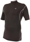 Ultrasport Herren Fahrradshirt mit Reißverschluß, black palomagrey, XL, 10229 -