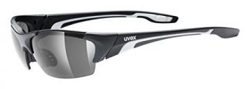 UVEX Sonnenbrille Blaze lll, Black Mat, One size, 5306042210 - 1