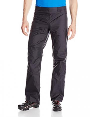 VAUDE Herren Hose Drop Pants II, Black, L, 04981 - 1
