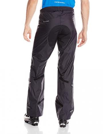 VAUDE Herren Hose Drop Pants II, Black, L, 04981 - 2