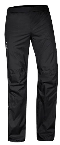 VAUDE Herren Hose Drop Pants II, Black, L, 04981 - 4