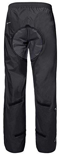 VAUDE Herren Hose Drop Pants II, Black, L, 04981 - 5