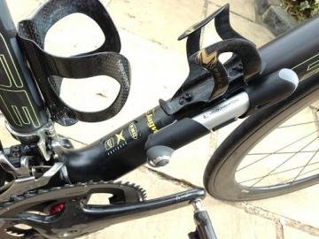 VeloChampion Alloy 7 Mini-Fahrradpumpe aus Aluminium, Silber/Schwarz - Mini Bike Pump - 5