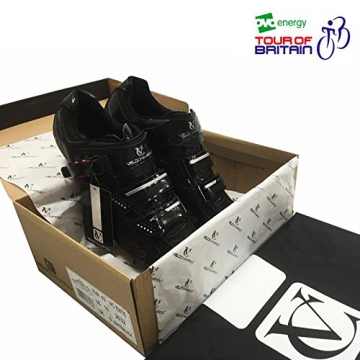 VeloChampion Elite Rennradschuh (Paar) White/Black 43 Road Cycling Shoes - 3