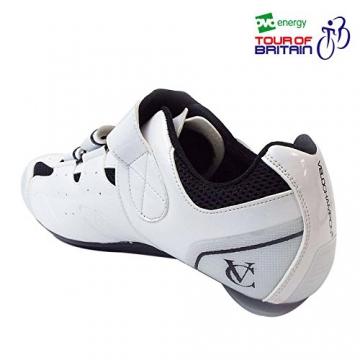 VeloChampion Elite Rennradschuh (Paar) White/Black 43 Road Cycling Shoes - 5