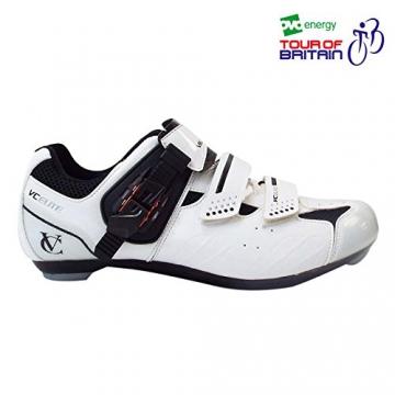 VeloChampion Elite Rennradschuh (Paar) White/Black 43 Road Cycling Shoes - 6