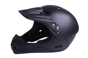Ventura Downhill Helm, matt schwarz, M (54-58 cm) - 1