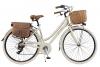Via Veneto By Canellini Fahrrad Rad Citybike CTB Frau Vintage Retro Via Veneto Alluminium (Beige, 46) - 1