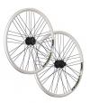 Vuelta 26 Zoll Laufradsatz Quattro X Shimano Deore Disc HB / FH-M525 weiß - 1