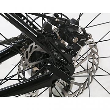 Weihnachten Geschenk extrbici XC700Sports Racing Road Bike Pro 700cx700mm Rad 56cm leichte Aluminium-Legierung Rahmen 14Speed Shimano 2300Shift Gears Mans Road Fahrrad Doppel Mechanische Scheibenbremsen, blau - 5