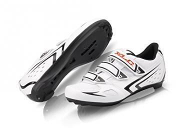 XLC Erwachsene Road-Shoes CB-R04, Weiß, 45, 2500080700 - 1